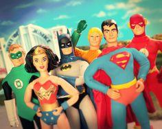 Justice league, figurine edition