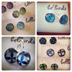 Earrings made by Bellbird Designs Washer Necklace, Drop Earrings, Handmade, Jewelry, Design, Art, Hand Made, Jewellery Making, Jewlery