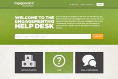 Engagement HQ - Zendesk Help Desk: https://bangthetable.zendesk.com/hc/en-us