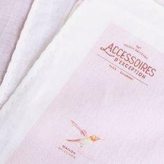 - Collection AW16 - www.maisonbaluchon.fr #maisonbaluchon #scarf #birds #pattern