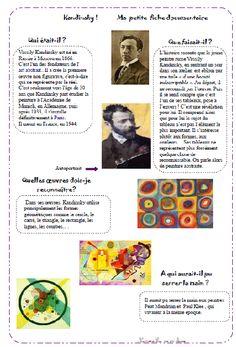 nurvero, la vie en classe Kandinsky, fiche documentaire