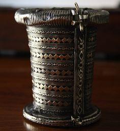 Warrior Afghan Bracelet Vintage Kuchi Bracelet by BohemioRose
