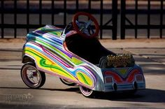 low rider pedal car