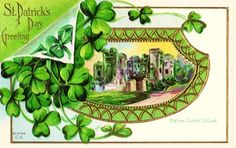 CONFESSIONS OF A PLATE ADDICT Vintage Saint Patrick's Day Candles
