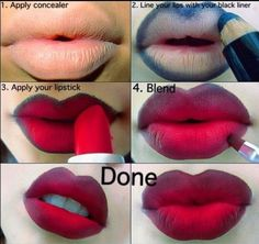 How to do ombre lips