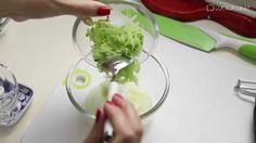 ▶ Aprenda a Fazer Salada no pote crudités   Receitas Saudáveis   Lucilia...