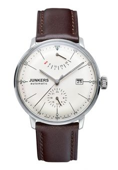 JUNKERS.  Photography makes all the difference.  Watch looks terrible here. http://www.uhrbox.de/  360 EUR shipped from http://www.uhrbox.de/shop/JUNKERS/Mens-Watches/Automatic-Watches/Junkers-Watch-Bauhaus-automatic-with-power-reserve-Ref-6060-5::3423.html