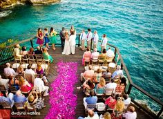 What a beautiful way to get married, don't you think?