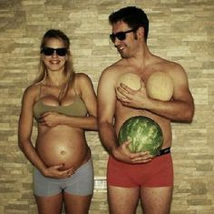 These maternity photos may be weird but we can't get enough of them