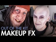 """Makeup Effects Tutorial - Character Makeup """"Out of the Kit"""" with FX artist Joel Harlow"""