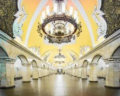 Moscow's Palatial Metro Stations