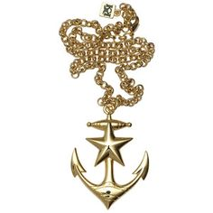 Anchors Away Necklace now featured on Fab.