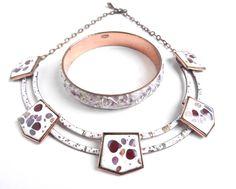 Vintage Matisse Copper Jewelry Set