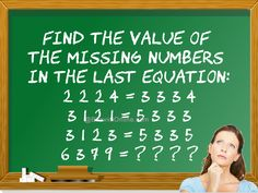 Find The Value Of The Missing Numbers In The Equation: 6 3 7 9 = ? ? ? ? - BhaviniOnline.com