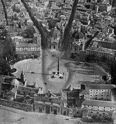 Piazza del Popolo  1941/1942