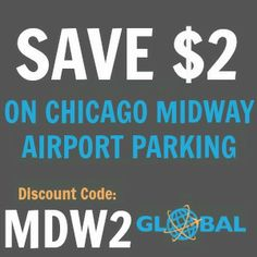 MDW Chicago Midway Airport Parking Coupon