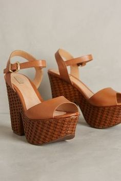 Schutz Tauba Platforms Brown Shoes #anthrofave