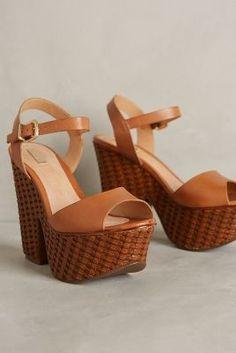 Schutz Tauba Platforms Brown Shoes #anthrofave