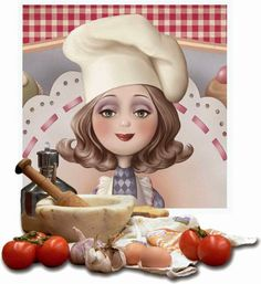 Nina de San é uma ilustradora francesa, trabalha no editorial de revistas e livros infantis.   Chef!