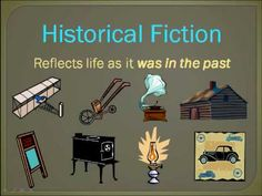 Difference between realistic and historical fiction. Good for review on ipad.