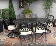 Casa Casual Cast Aluminum Furniture Patio Furniture Outdoor Patio Furniture Porch Furniture