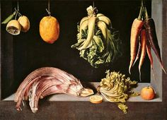 Juan Sanchez-Cotan, Still Life William Turner, Juan Sanchez Cotan, Hans Baldung Grien, Renaissance, Still Life Fruit, Baroque Art, New York Museums, Food Painting, Spanish Painters