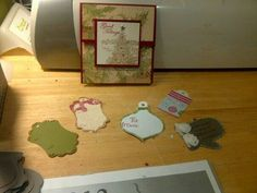 tags and bags fir Christmas gifts