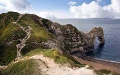 Dorset and East Devon Coast or Jurassic Coast, aptly named for its 95 mile long stretch which contains 185 million years of Earth's history