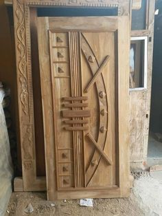 Front Door Design Wood, Wooden Door Design, Wooden Doors, Model House Plan, House Plans, Door Frames, Door Design Interior, Engineer, Furniture