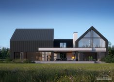 House project: LK & 1456 - Exclusive HOUSE project: Life at the highest level - Minimalist House Design, Modern House Design, Barn House Design, Contemporary Design, Modern Architecture House, Architecture Design, Minimal Architecture, Facade Design, Modern Barn House