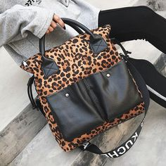 e3243d960cb8 Punk Style Messenger Bag Women Fashion PU Leather Casual Tote Ladies Sexy  Leopard Style Shoulder Clutch Handbag