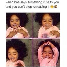 """I can't stand the term """"bae"""". But this is cute ☺️"""
