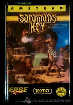 Juego Amstrad CPC Cinta - Solomon ' s Key (1987) Español Erbe