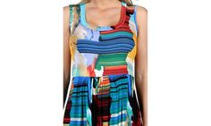 Groupon Goods: 24/7 Comfort Apparel French Watercolor Maternity Shift Dress