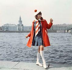 Female fashion, USSR,1980s
