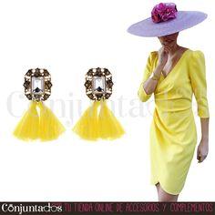 Pendientes Nora amarillos ★ 12'95 € en https://www.conjuntados.com/es/pendientes/pendientes-nora-con-borlas-en-amarillo.html ★ #novedades #pendientes #earrings #conjuntados #conjuntada #joyitas #lowcost #jewelry #bisutería #bijoux #accesorios #complementos #moda #eventos #bodas #invitadaperfecta #perfectguest #party #fashion #fashionadicct #picoftheday #outfit #estilo #style #GustosParaTodas #ParaTodosLosGustos