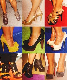 The high heels are HIGH. But their still cute Demi Lovato Clothes, Demi Lovato Style, Cool High Heels, Cute Shoes, Role Models, Christian Louboutin, Sunshine, Walking, Victoria