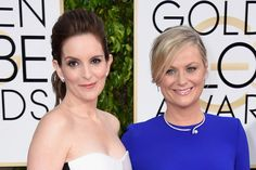 Watch Amy Poehler and Tina Fey's Hilarious Golden Globes Opening Monologue