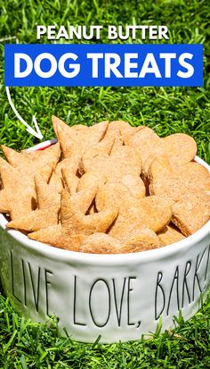 Our dogs LOVED these peanut butter dog treats, and they were super quick to make. Peanut Butter Dog Treats, Oven Recipes, Dog Love, Green Beans, Bff, Yummy Food, Sweets, Vegetables, Friends