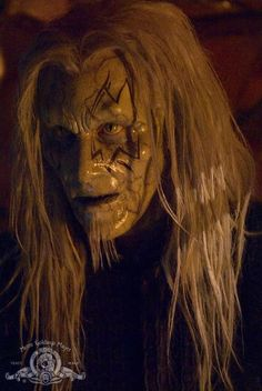 Christopher Heyerdahl as Todd the Wraith on Stargate Atlantis. (Christopher Heyerdahl picked the facial tattoo for his character based on his favorite band, KISS. Sci Fi Books, Sci Fi Movies, Atlantis Tv Series, Walking Dead, Stargate Movie, Christopher Heyerdahl, Science Fiction Books, Fiction Movies, Star Trek Beyond