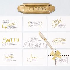 Artful Envelopes to Light Up Your Holiday Season: Spend some time this cozy weekend to send some heartfelt holiday mail and make it personal with these envelopes.