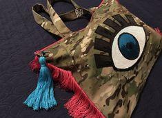 Kalliopie Designs Beach Bags, Upcoming Events, Evil Eye, Zebra Print, Skull, Handmade, Accessories, Clothes, Design