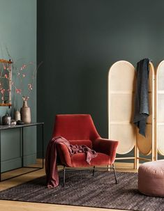 Haymes Paint latest showcases delightful sorbet tones – The Interiors Addict Kitchen – Home Decoration Interior Design Living Room, Living Room Decor, Interior Decorating, Bedroom Decor, 60s Bedroom, Mid Century Interior Design, Interior Wall Colors, Asian Interior, Interior Design Photography
