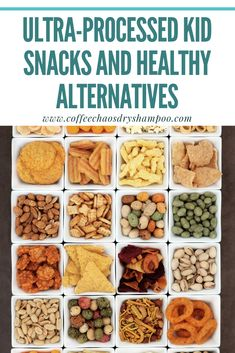 Many ultra-processed kid snacks are advertised as healthy when they aren't. Here 8 healthy swaps. Healthy Kids, Healthy Snacks, Healthy Recipes, Healthy Eating, Quick Snacks, Kid Snacks, Real Food Recipes, Snack Recipes, Kids Health
