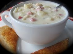 Chicken-Cordon-Blue Soup!?!  Must Try!