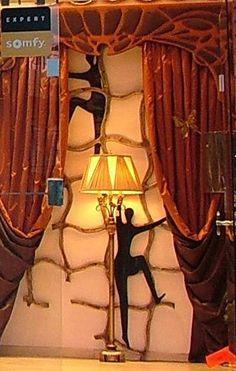 Χειροποίητη δημιουργία μου σε ξύλο-υπάρχει δυνατότητα διαφοροποιήσεων. Table Lamp, Curtains, Lighting, Home Decor, Table Lamps, Blinds, Decoration Home, Room Decor, Lights
