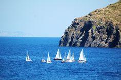 28 Agosto. La regata di fine corso! #LNV2015 #vela #regata #estate2015 #summertime #Ventotene