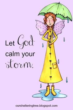 "Does life have you in a storm? Listen, and you can hear Christ's ""Peace be still."""