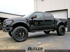 2014 Ford Raptor with 22in Fuel Hostage Wheels | Flickr - Photo Sharing!