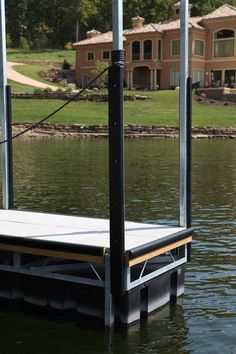 "KR625 Post Bumper- 2.5"" Slot Dock Bumpers, Boat Dock, Blow Molding, Solar Lights, Porch Swing, Outdoor Furniture, Outdoor Decor, Slot, Landscape Rake"